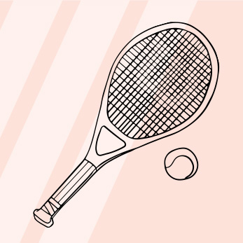 Tennis Guide, Glossary & FAQ - Anywho, tennis is a racquet sport (duh) that is played individually or in doubles. Tennis is played on a court - grass, clay or hard surface court. The point of the game is to hit the tennis ball over the net so that the opponent can't return the ball back over the net. And, points are awarded when one player isn't able to get the ball back over. The scoring for tennis is pretty nutty. It's measured in individual games, then sets, then match...read more here