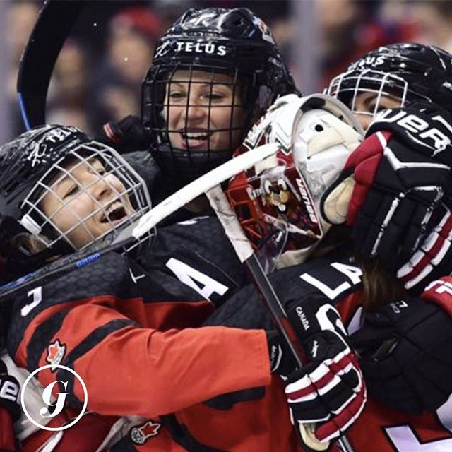 HYFR! Team Canada has won the inaugural Rivalry Series after beating the U.S.A. 2-0 earlier today!🇨🇦 • Canada lost the first game 1-0, won the second 4-3 on Thursday (best v-day present ever) and of course won today. • This is a BFD obviously because of the truly epic rivalry between these two countries but also because the U.S. has been dominating lately, most recently won the Four Nations Cup AND the Olympics. • What a way to go into the long weekend! GO CANADA GO! 🏒 #thegist