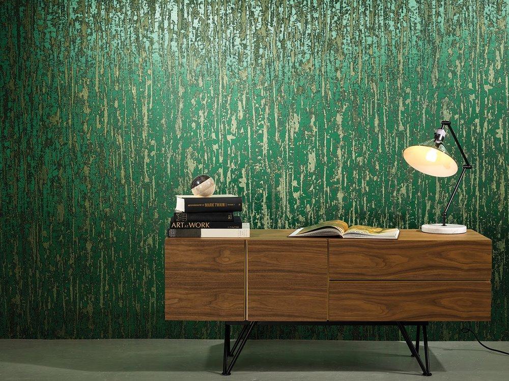 Innovations Usa green wallpaper Lacebark