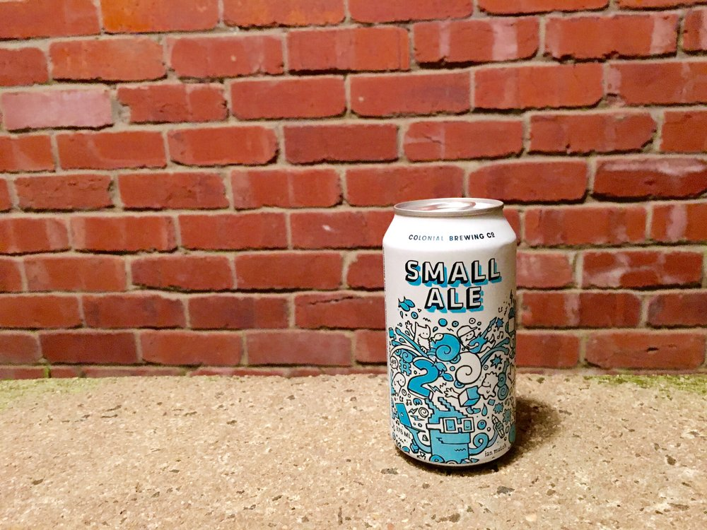 Colonial Brewing Co. Small Ale