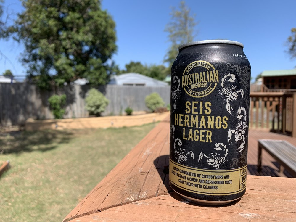 Australian Brewery seis hermanos lager