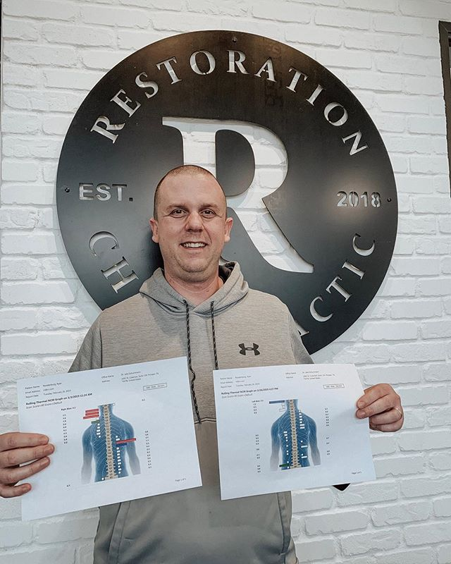 #RestorationStories  We love serving Ryan and his family! He runs a successful health & wellness business, but stubborn, chronic, back pain was keeping him from doing the things he loves. Before --  After While his symptoms left very quickly when he started with us, he has added regular, neurologically-based Chiropractic to his wellness routine.  He notes energy is at an all-time high and sleep has been much improved!  #RCfamilies #Testimonial #Healing