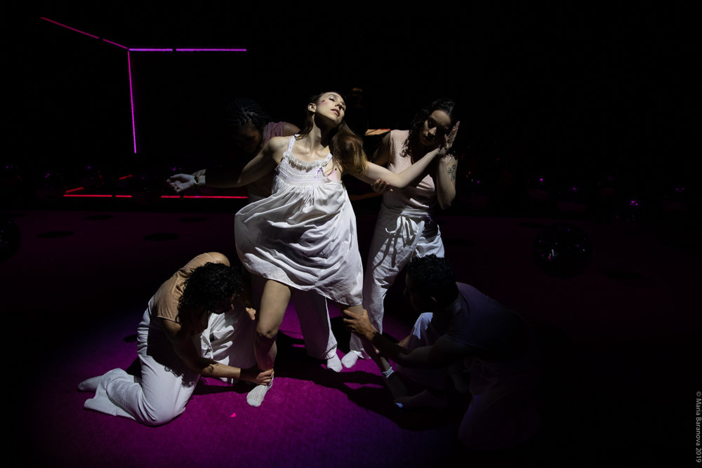 From left to right: Charbel Rohayem, Tatiana Barber, Anna Schubert, Gigi Todisco, Chris Emile