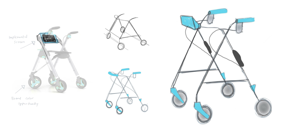 First-round prototypes, C.Jessey, RISD