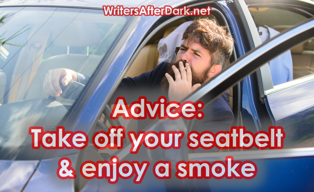 take off your seatbelt