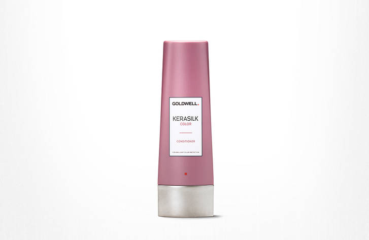 CONDITIONER  KERASILK COLOR   • With Keratin and Tamanu Oil.  • For color-treated hair.  • Moisturizes, conditions and enhances color brilliance.  To purchase,  contact us