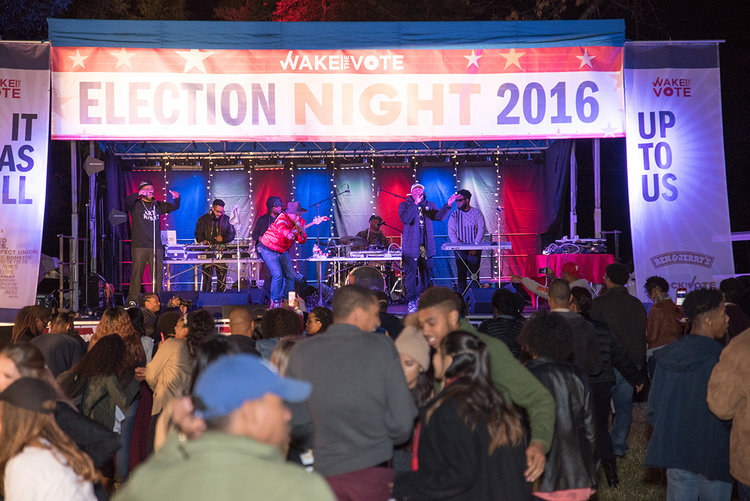 Wake the Vote Election Night Party 2016