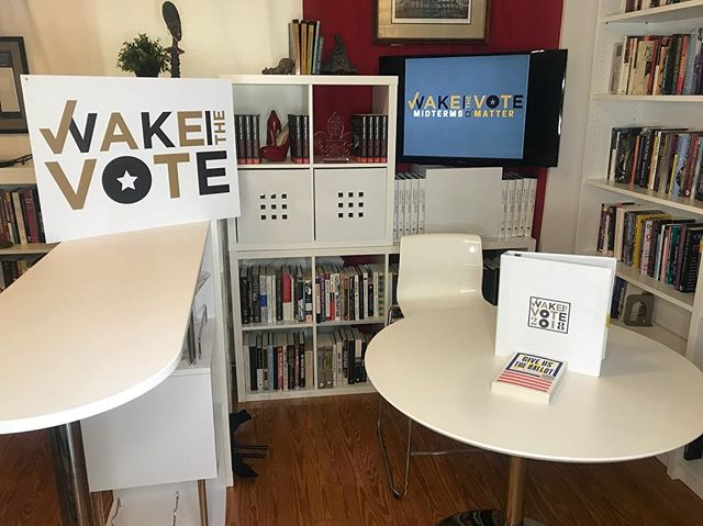 Welcome from Wake the Vote studios!