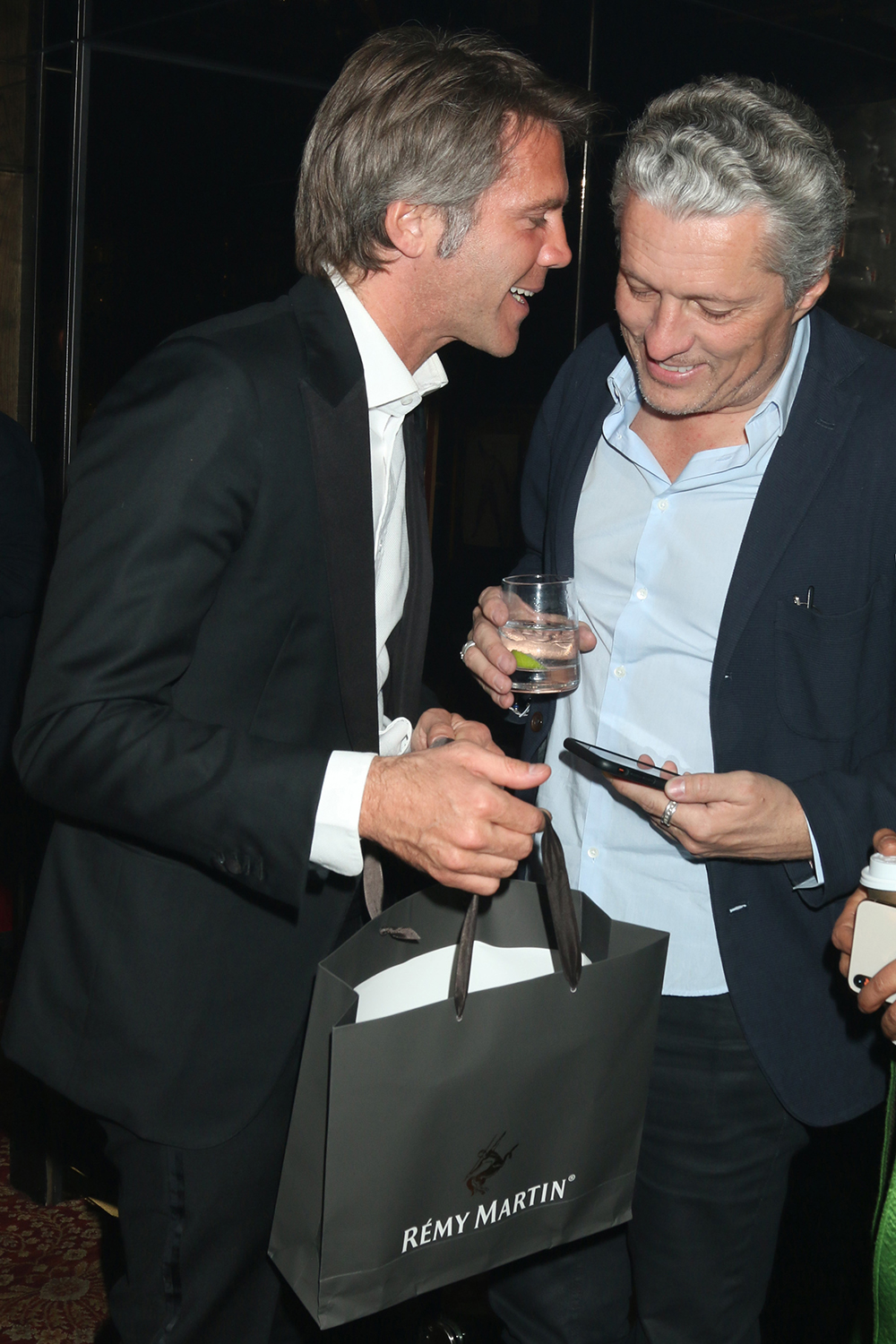 Prince Emanuele Filiberto di Savoia and Pierre Antoine Laduree celebrate Global Intuition x Remy Martin party at Raspoutine in West Hollywood hosted by YiZhou