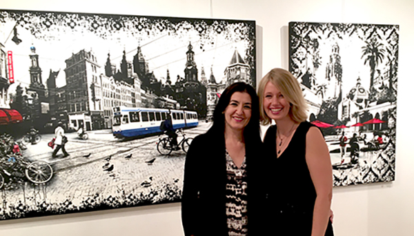 Nedia El Khouri and Denise Buisman Pilger