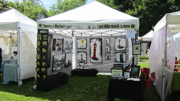 Artist Abroad Booth