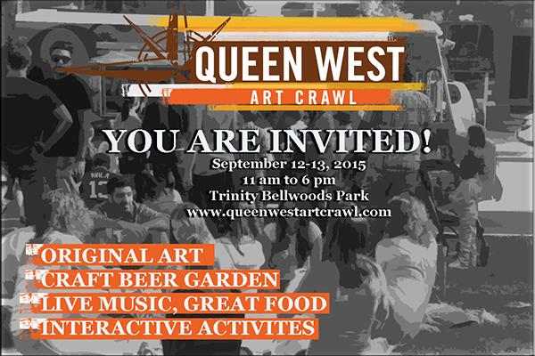 Queen West Art Crawl 2015