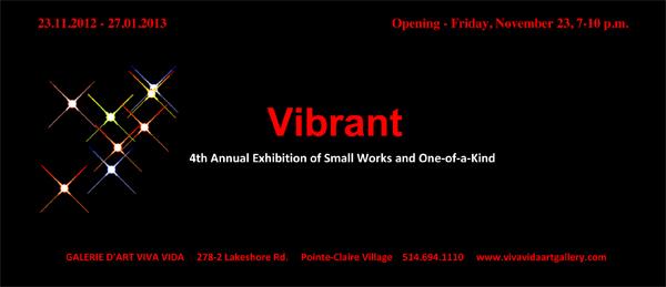 Vibrant Small Invitation 2012