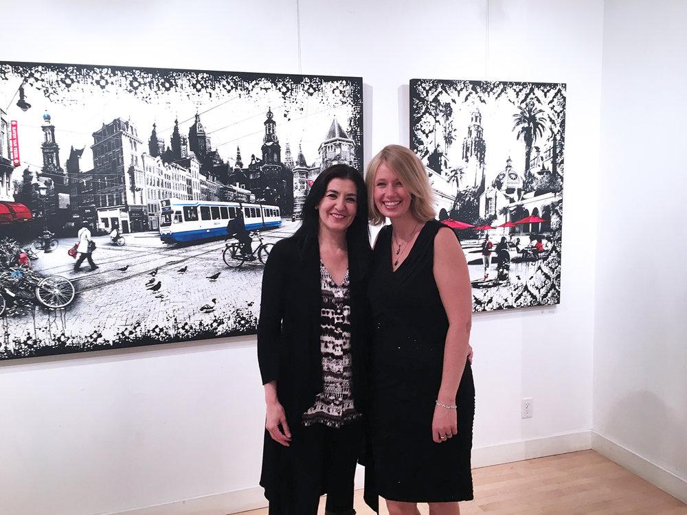 Photo: Courtesy Denise Buisman Pilger  Nedia El Khouri and Denise Buisman Pilger.