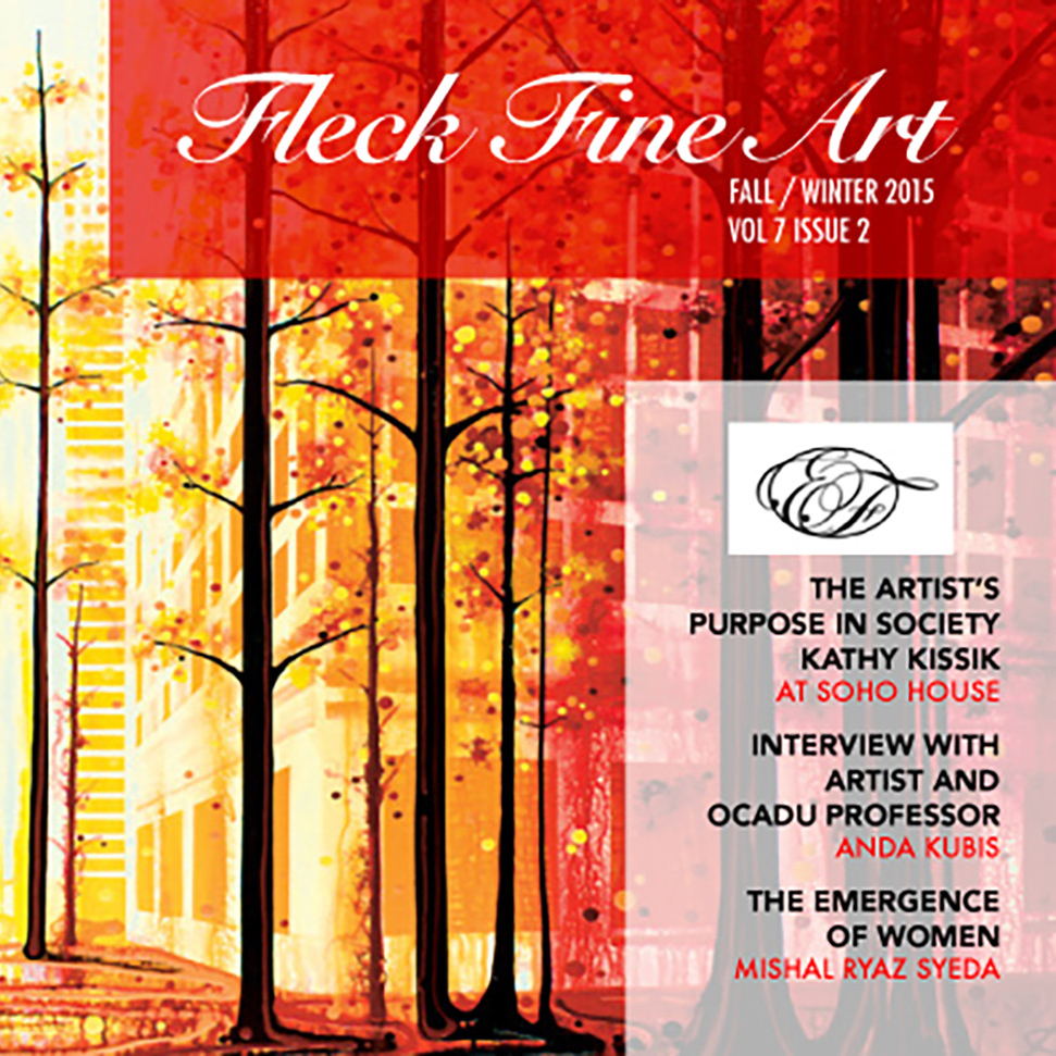 August 28 2015 - Fleck Fine Art Catalogue Fall-Winter