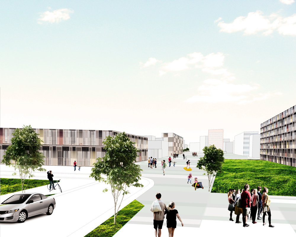 city center - Year: 2014Location: Suhareka, KosovoClient: Municipality of SuharekaPhase: Urban Design