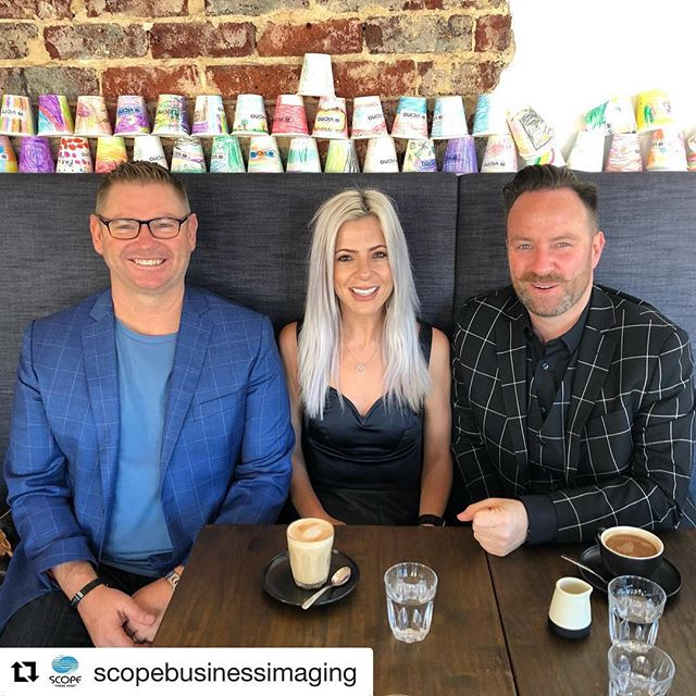 The feeling's mutual Ari! 💁‍♀️ . . . #Repost @scopebusinessimaging ・・・ Always a pleasure catching up with @thejamjaradagency our Creative Agency. Pictured L-R Nigel from The Jam Jar, Ariarna from Scope and Simon from The Jam Jar 💙 #scopebi #seethelight #perthcreatives #creativeagency #advertising #soperth #printers #copiers #perthbrekkie #supportlocal #sme #networking