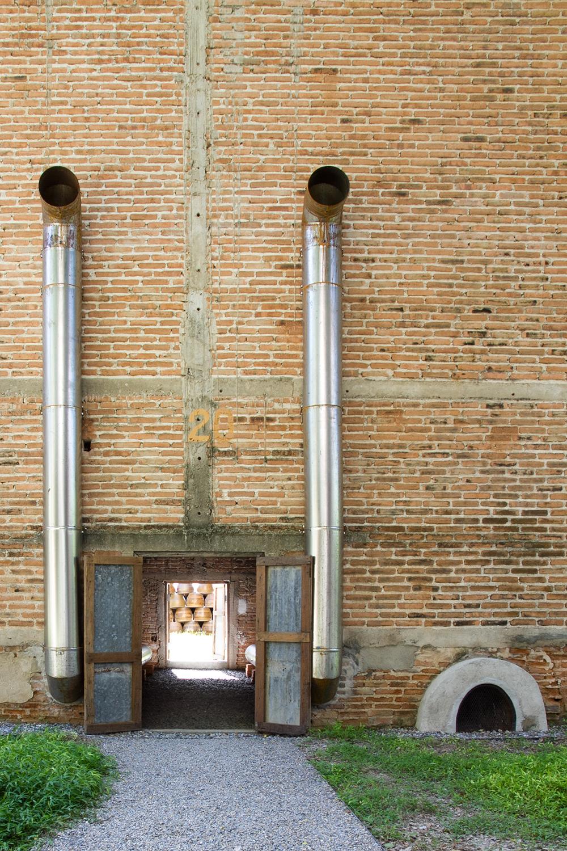 kaomai museum_fuel pipes, door, furnace