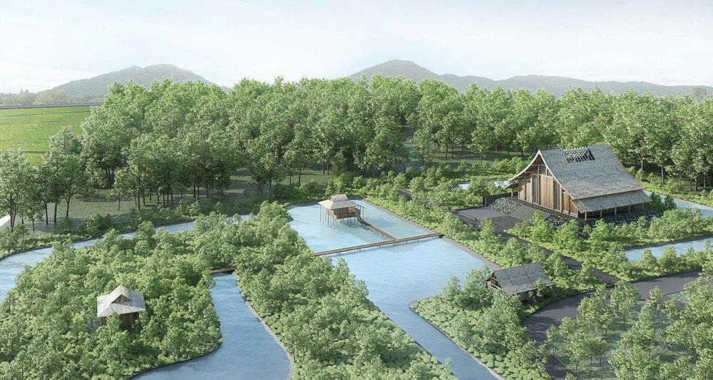 Luang Ta Bua Museum - Location: Lopburi, ThailandClient: Wat PathammawisuttimongkolYear: 2015-OngoingType: VoluntaryStatus: OngoingProgram: Museum, Library, Herbal Farm / 20 000m²Roles: Architect and Interior ArchitectCollaborators:Landscape Architect: Akavit TongdevorakulEngineers: Prasit Sungsawang, Suchada Niljan, Apisit Wuttiwanich