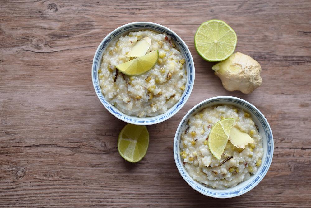 Se ett annat recept   här  på hur du kan göra en Congee även på mungbönor! :)