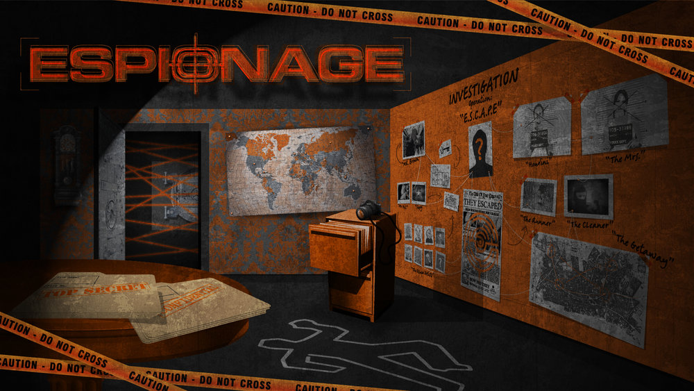 espionage - NOW PLAYING AT DUNEDIN PRISON:It's 1963 and the Cold War just got colder. The KGB searches Antarctica for missile sites. The CIA watches from a satellite station hidden deep in a prison. Crisis one: Station Chief Natasha has reprogrammed the satellites to crash. Crisis two:  She's set the tracking station to self-destruct. Crisis three:  She's still inside. Is this suicide?  Or worse … espionage!Our toughest escape - first timers beware