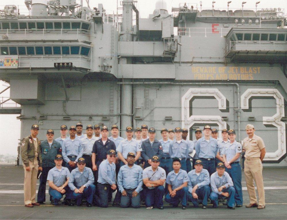 NR CV-62 Uss Independence Aug Unit Detachment- Jun 1995