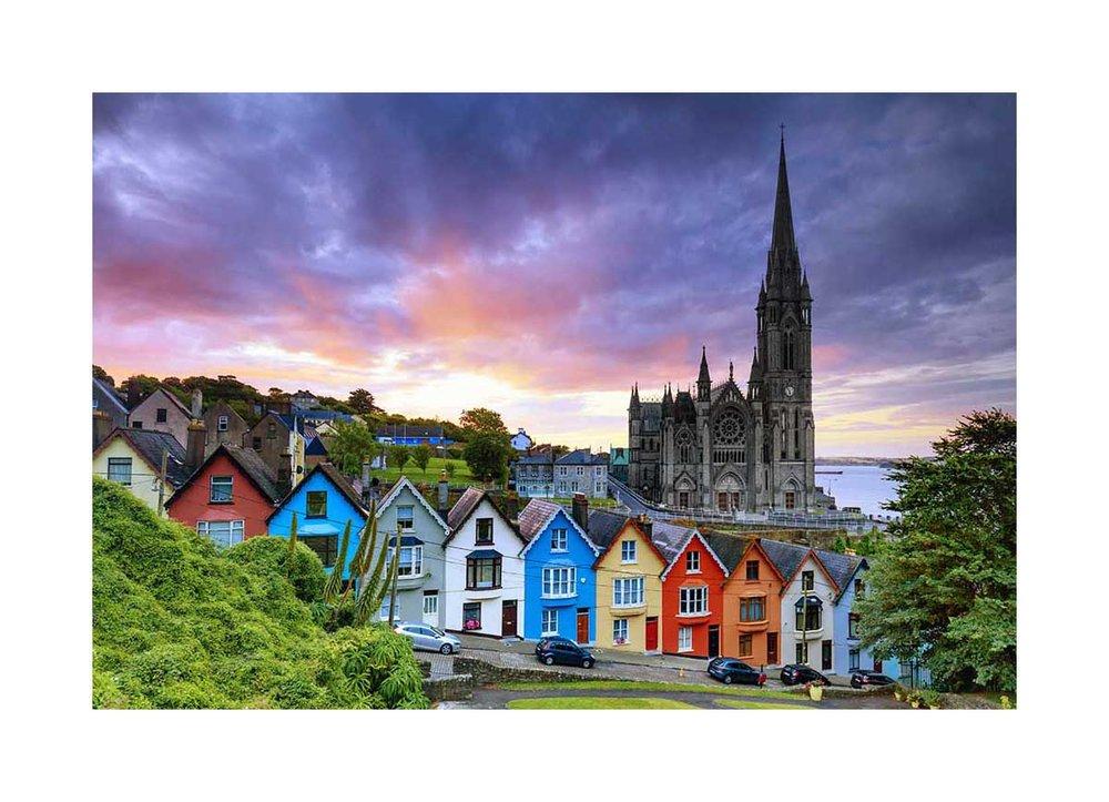Cobh village, Ireland