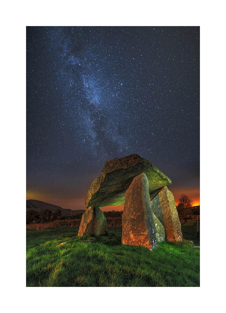Dolmen in Newry, Ireland