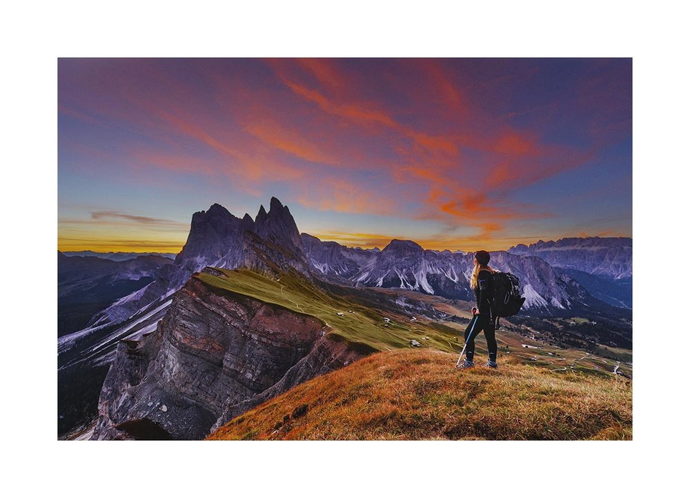 Seceda mountain, Dolomites