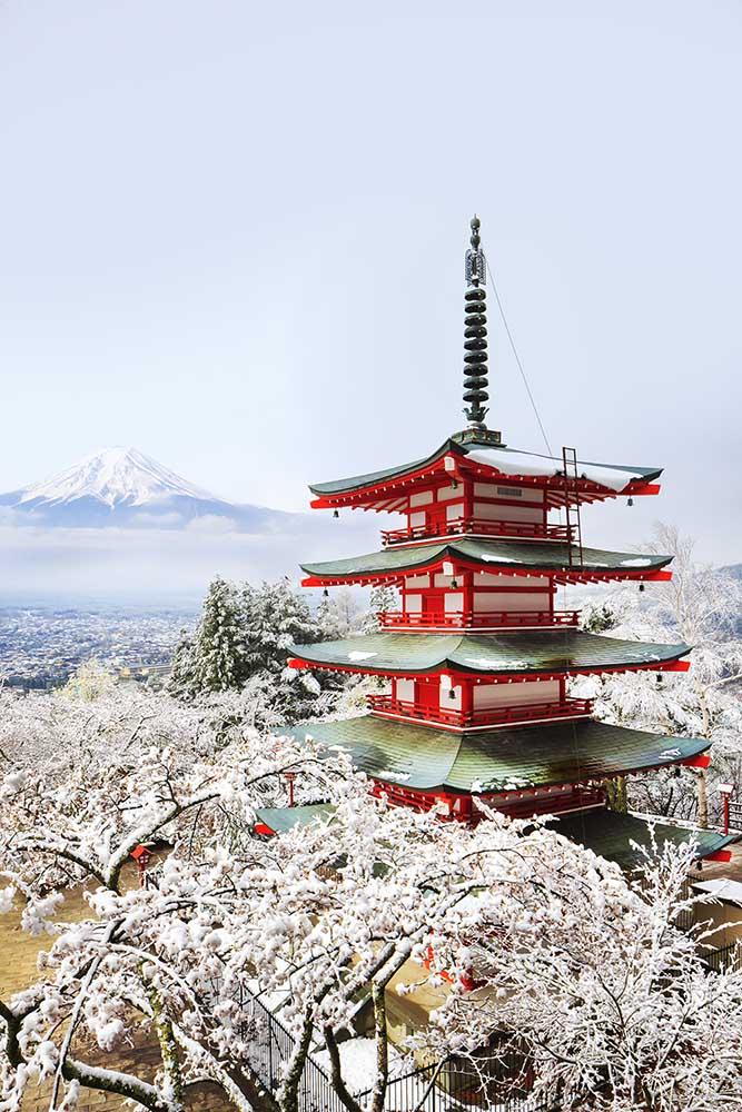 Monte Fuji - Avremo come base la zona di Fujiyoshida, zona privilegiata per fotografare la famosa pagoda di Chureito e la zona dei 5 laghi.