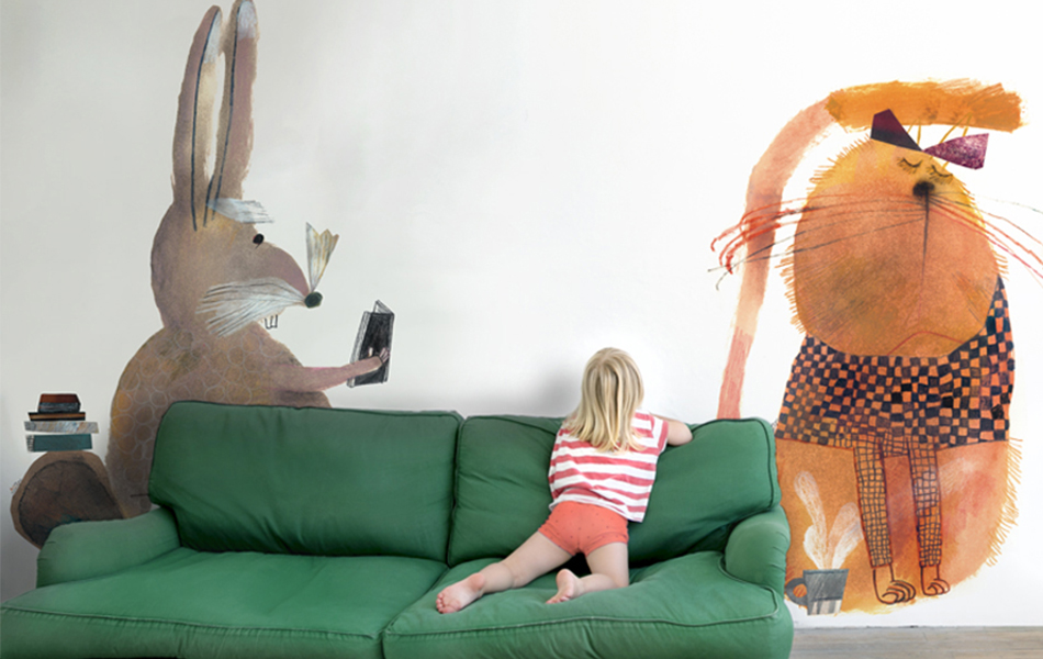 Playful and stylish wallpaper options - From DKK 599,-