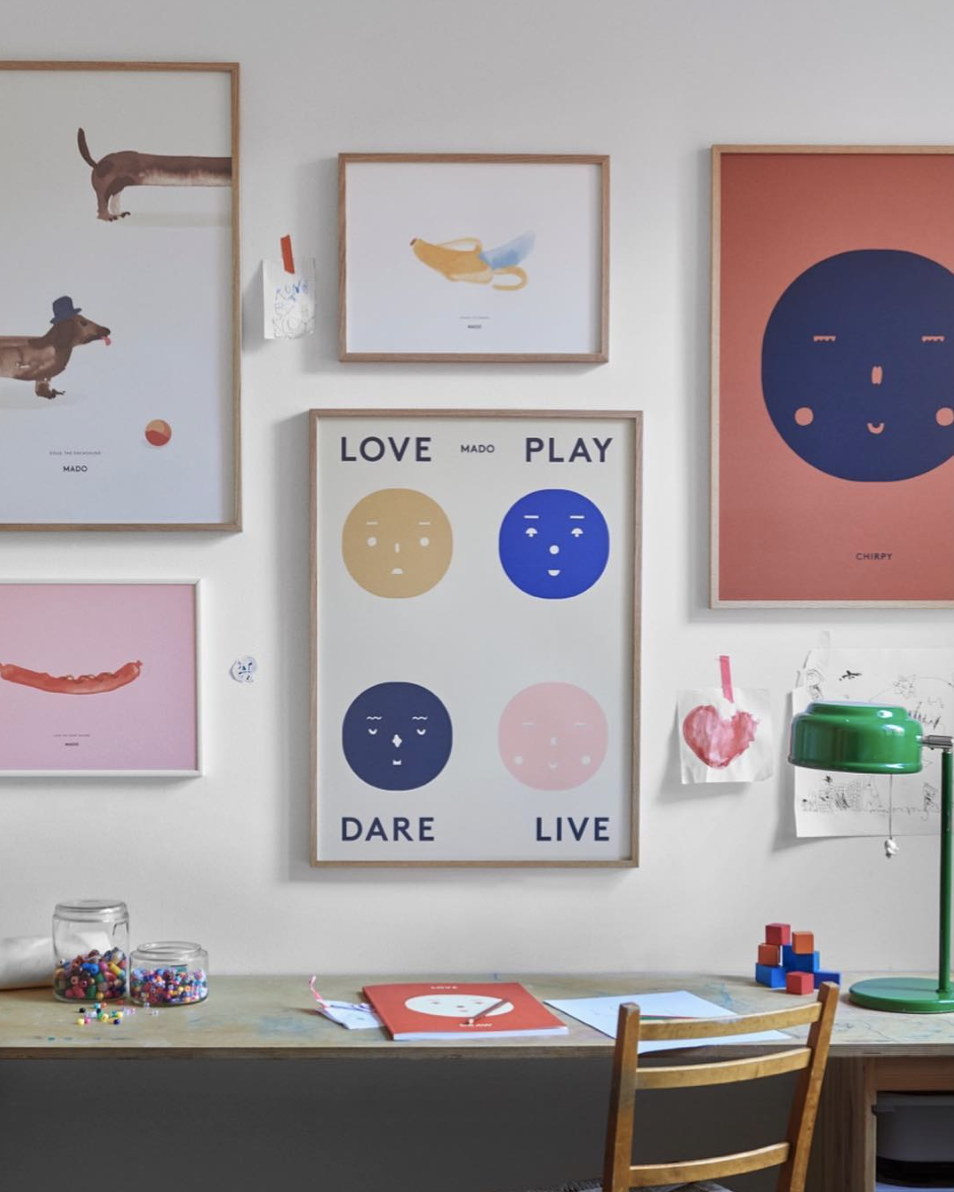 MADO - The Danish collaboration that's taking paper goods for kids to new heights