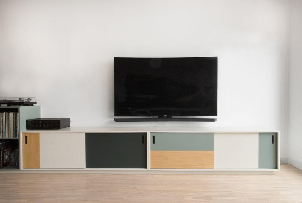 Tv kast ton sur ton u renier
