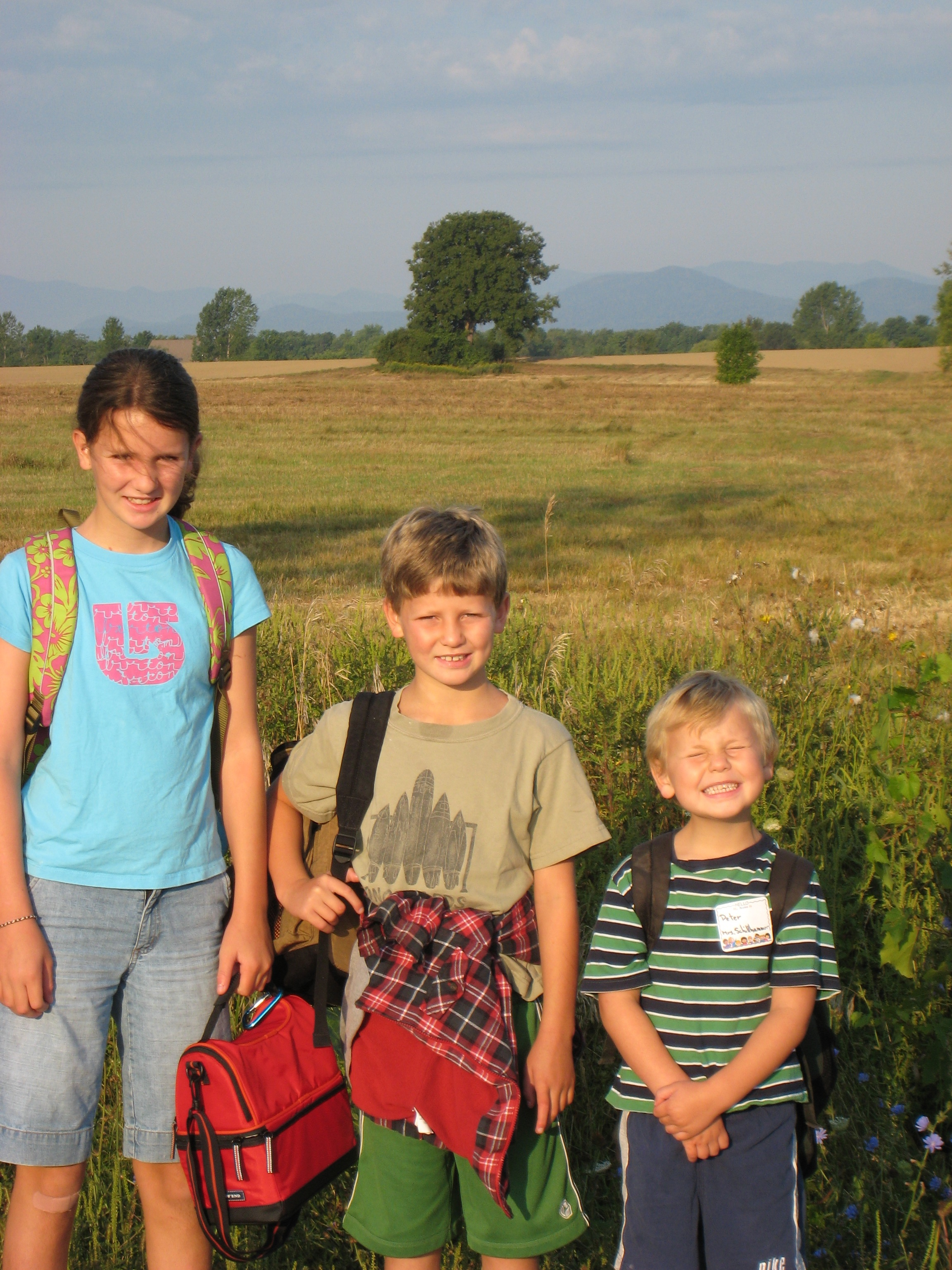 My children Madison, Ben and Peter have been to Uganda many times.