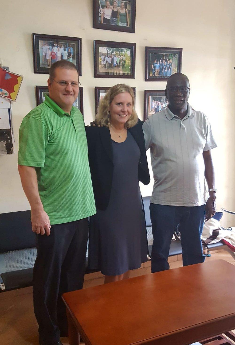 Bugongi Clinic partners