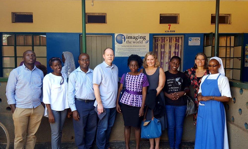 Succession training at Nawanyago HCIII in Uganda