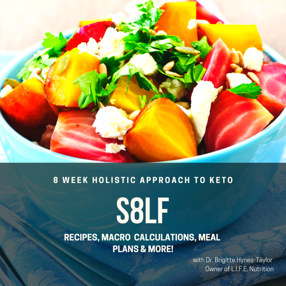 S8LF - 8 week holistic approach to Keto - 1. Nutrition only (Reg. $260 + tax)*mention YLGG and get it for $220 + tax $40 savings2. Nutrition & 8 week unlimited fitness At Circle studio:Cost is Reg. $450 + tax, *mention YLGG and will get $50 off !!You will get the program for $400 + taxMaterials included are:* handbook on how implements keto (foods avoid, consume)* grocery list* recipe book * menu plans * weekly emails and keto topics