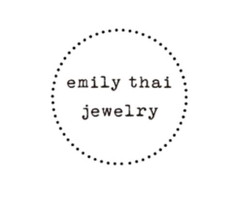 Email:  EmilyThaiJewelry@gmail.com   Website  www.EmilyThai.Storenvy.com