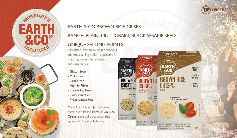 Brown Rice Crisps - FREE FROM