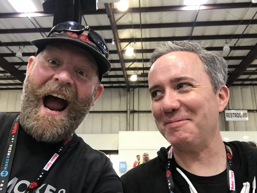 Dominic & Donald at Bay Area Maker Faire 2018
