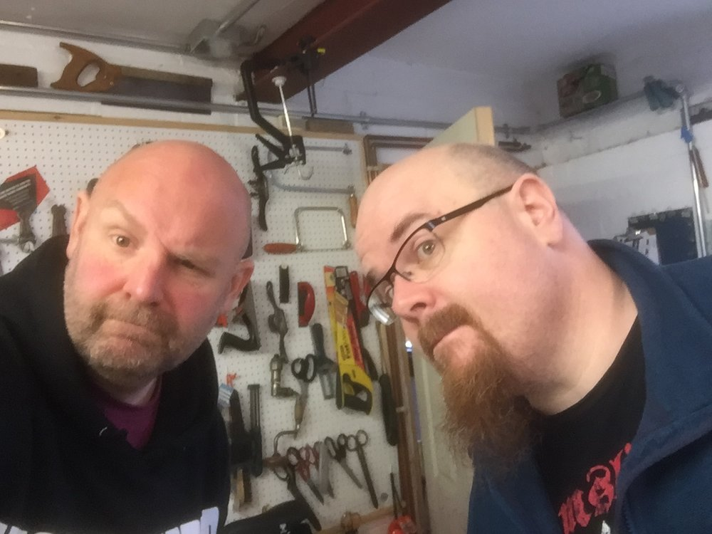 """Dominic & Paul do """"Tool Autopsy"""" in Dominic's workshop"""