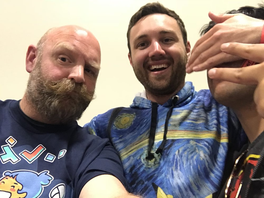 Dominic, William & Cameraman John at Bay Area Maker Faire 2018