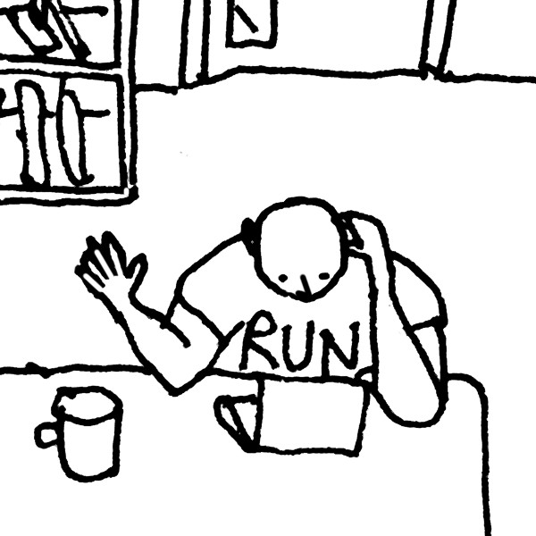 Me as depicted by Hunkin