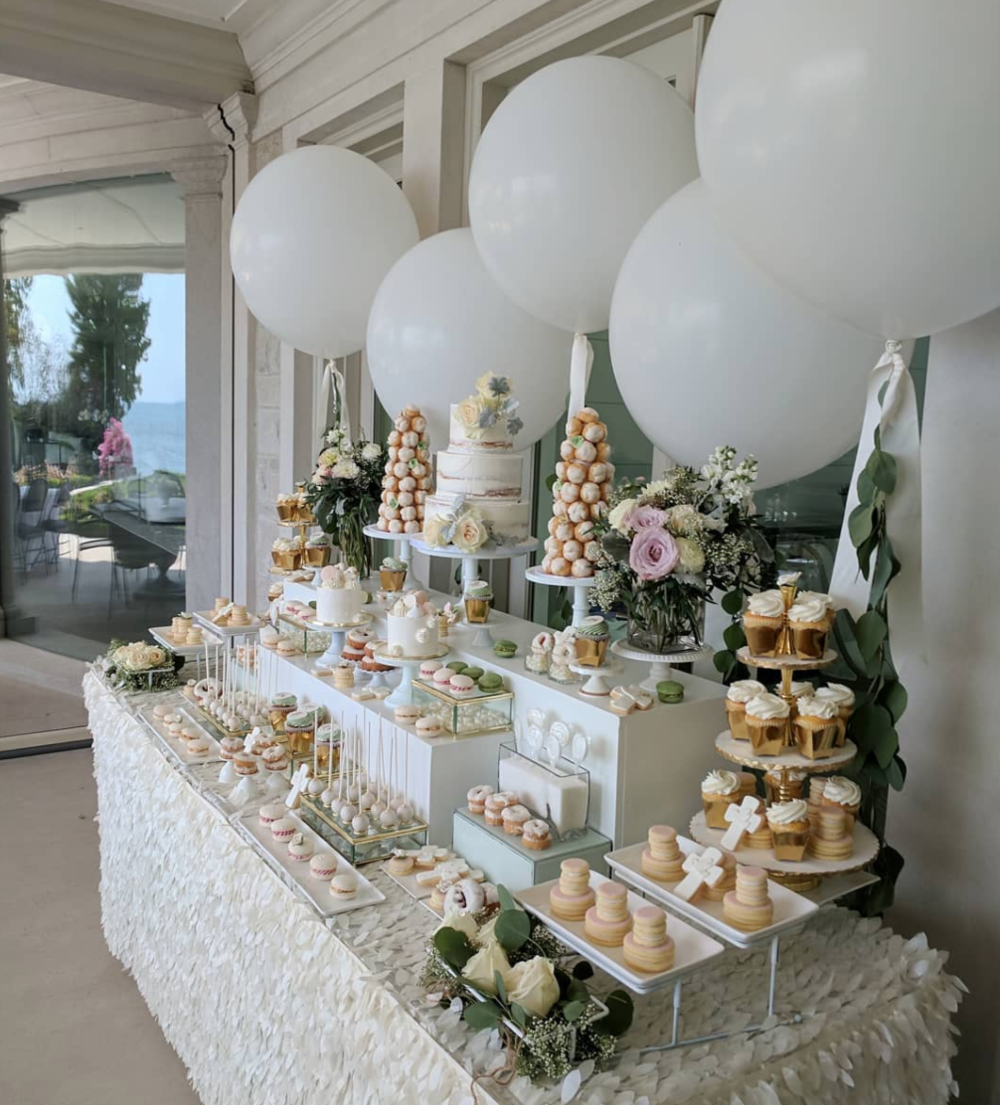 Harper's Baptism Sweet Table