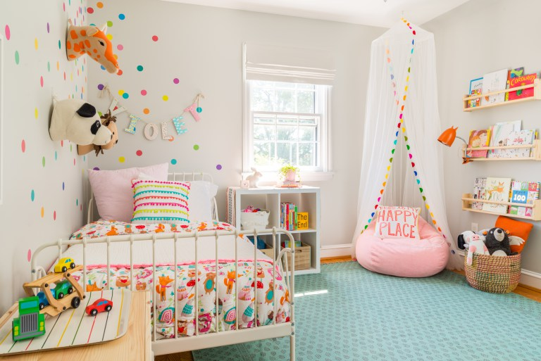 Toddler's Whimsical Bedroom Makeover