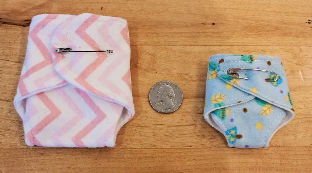 teeny tears diapers -