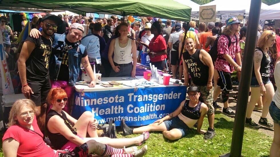 volunqueers tabling at tc pride.png