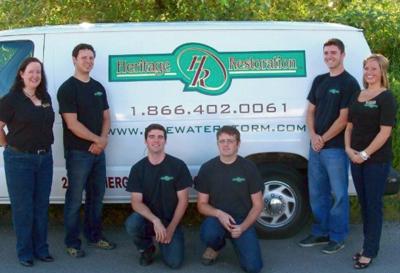 water damage restoration Lamberts Corner WA