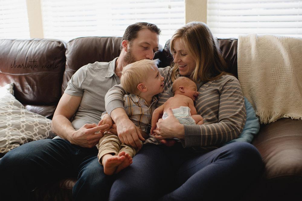 Baby Charles: Newborn Story
