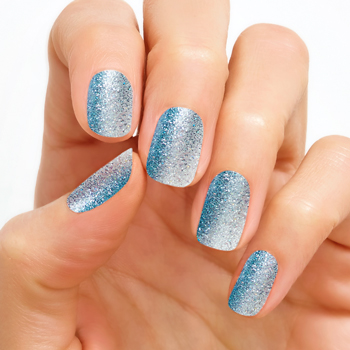 Glitter Ombre Shimmershine Nails
